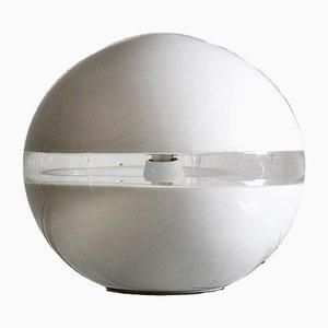 Lampada da tavolo in vetro soffiato a mano di Carlo Nason per Mazzega, anni '70