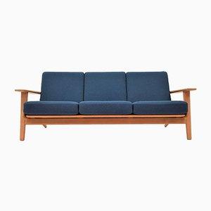 Modell GE290 / 3 Sofa von Hans J. Wegner für Getama, 1960er