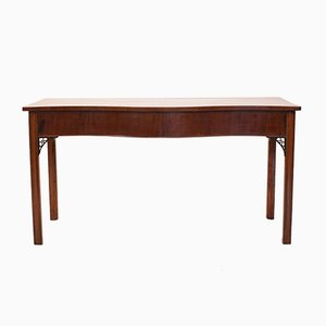 Mahogany Regency Bow Front Console Table, 1810s