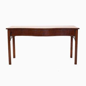 Mahogany Regency Bow Front Console Table, 1810s