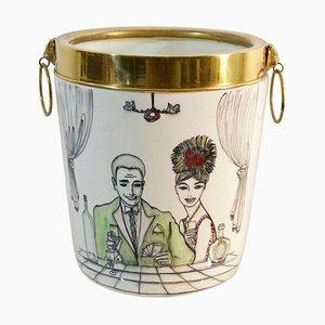 Mid-Century Italian Ice Bucket, 1960s