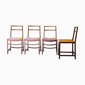 Italian Dining Chairs by Renato Venturi for MIM, 1960s, Set of 4