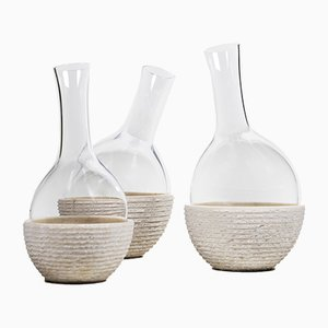 Versante Decanters by Gumdesign for La Casa di Pietra, Set of 3