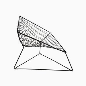 Poltrona Oti in ferro di Niels Gammelgaard per Ikea, anni '80