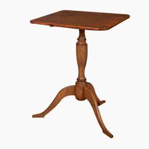 Antique Swedish Lamp Table