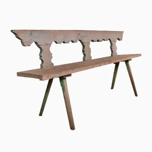 Banc Trylonon Antique Blanchi