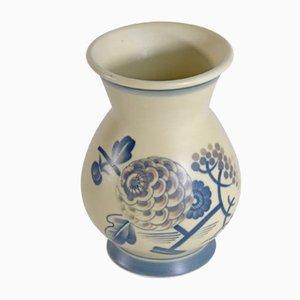 Dänische Vase aus Fayence von Aluminia, 1930er