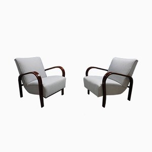 Armchairs by Karel Kozelka and Antonín Kropacek for Interier Praha, 1950s, Set of 2