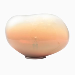 Sedna Amber Iridescent XL Table Lamp by Simone Lueling for ELOA