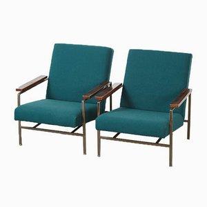 Moderne Sessel aus Metall von Rob Parry für De Ster Gelderland, 1960er, 2er Set
