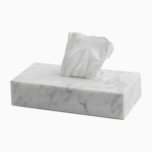 Marble Tissue Cover Box from FiammettaV Home Collection