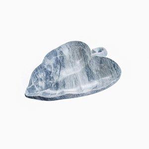 Große handgemachte Bardiglio Schale aus Marmor von FiammettaV Home Collection