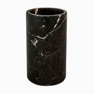 Porte-Ustensile en Marbre Marquina Noir de Fiammettav Home Collection