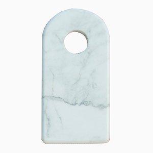 Hobelbrett mit Loch aus Carrara Marmor von FiammettaV Home Collection