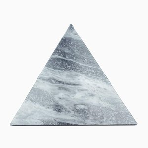 Triangular White Marble Cutting Board from FiammettaV Home Collection