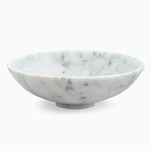 Weiße Schale aus Carrara Marmor von FiammettaV Home Collection