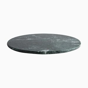 Round Black Marble Cheese Plate from FiammettaV Home Collection