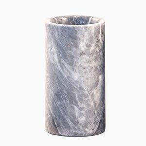 Portaspazzolino in marmo grigio di FiammettaV Home Collection