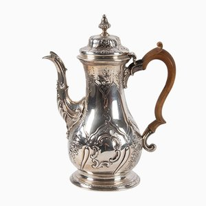 Antique English Sterling Silver Teapot