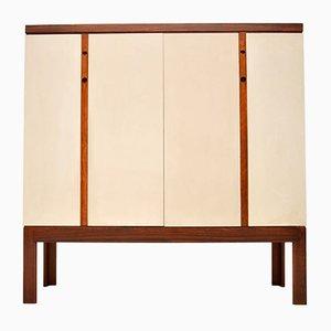 Mueble bar danés Mid-Century de palisandro, años 60