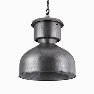Lampada da soffitto in acciaio di Mesko, anni '60
