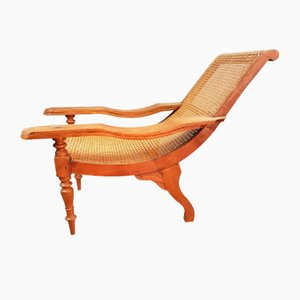 Antique Teak Lounge Chair