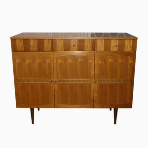 Small Mid-Century Wooden Sideboard, 1960s