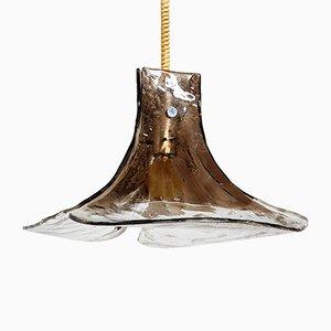 Lámpara de araña modelo LS185 de cristal de Murano de Carlo Nason para Mazzega, años 60