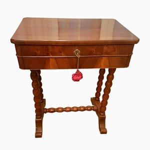 Antiker italienischer Werktisch aus Walnussholz