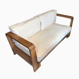 Dormeuse in legno curvato, Francia, anni '50