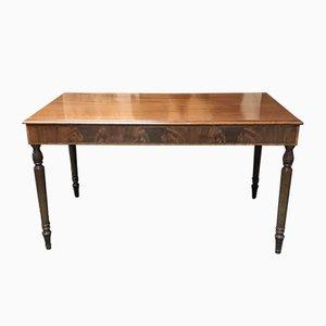 Mid-Century Mahogany Desk, 1950s