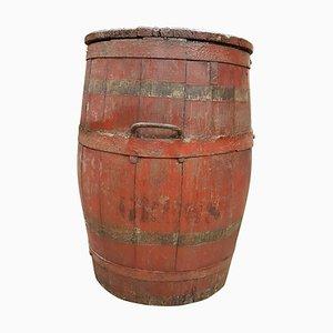 Antique Crew Ship Storage Barrel