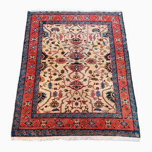 Vintage Rustic Wool Carpet, 1980s