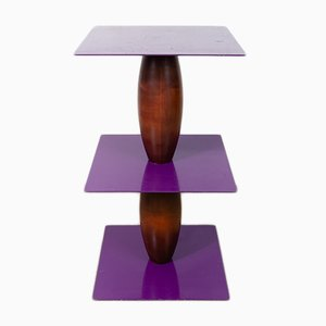 Zanzibar Pedestal Table by Marco Zanini & Wendy Wheatley for Bieffeplast, 1980s