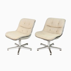 Swivel Chairs by Charles Pollock for Knoll, 1960s, Set of 2