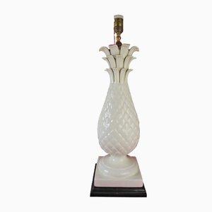 Mid-Century Manises Tischlampe aus Keramik in Ananas-Optik von Bondia, 1950er