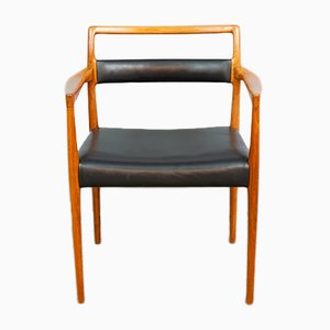 Model OD70 Dining Chairs by Kai Kristiansen for Oddense Maskinsnedkeri, 1960s, Set of 6