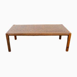 Wenge Coffee Table by Rolf Middelboe & Gorm Lindum for Tranekær Furniture, 1970s
