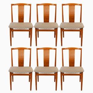 Dänische Esszimmerstühle aus Teakholz von Henning Sorensen für Danex, 1960er, 6er Set
