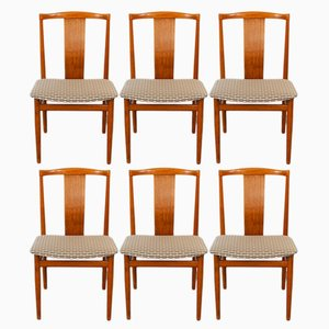 Danish Teak Dining Chairs by Henning Sorensen for Danex, 1960s, Set of 6