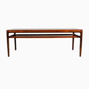 Danish Rosewood Coffee Table by Ole Wanscher for Jeppesen, 1960s