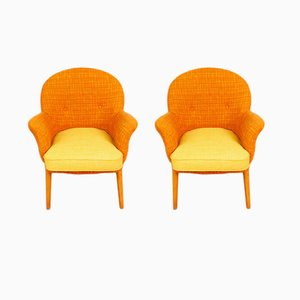 Cocktail Chairs from R. W. Toothill, 1960s, Set of 2