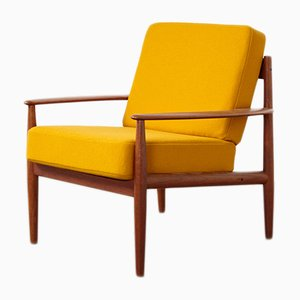 Danish Teak Lounge Chair by Grete Jalk for France & Søn, 1960s