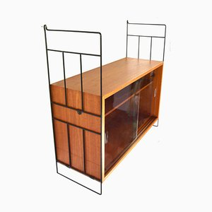 Mid-Century Wall Shelving Unit from WHB, 1960s