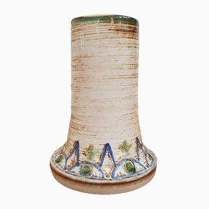 Dänische Keramikvase von Søholm, 1960er