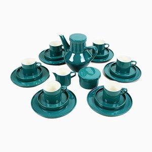 Deutsches Mid-Century Kaffeeservice aus Keramik von Lilo Kantner für Melitta, 1960er, 21er Set