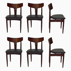 Rosewood Dining Chairs from Mahjongg, 1960s, Set of 6