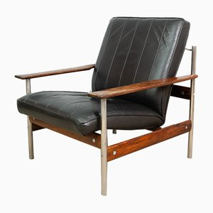 Norwegian 1001 AF Lounge Chair by Sven Ivar Dysthe for Dokka Møbler, 1959