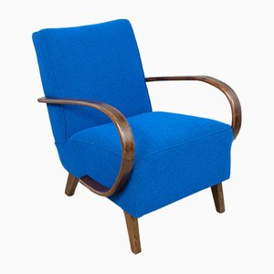 Art Deco Armchairs by Jindřich Halabala for UP Závody, 1930s, Set of 2