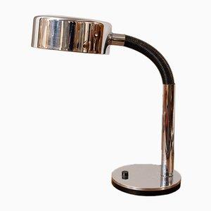 Deutsche verchromte Tischlampe von Hillebrand Lighting, 1970er